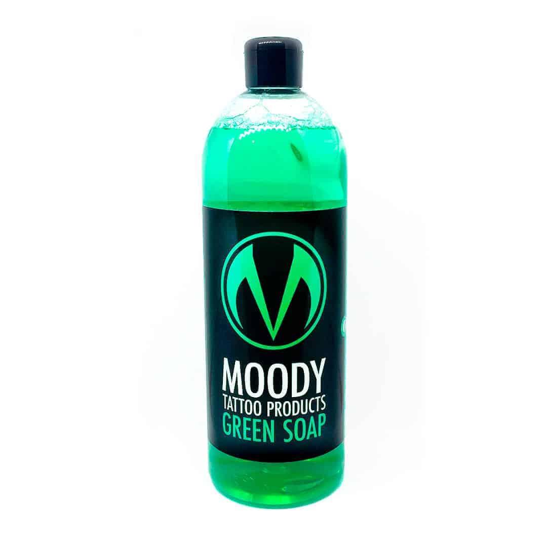 jabón verde caprichoso